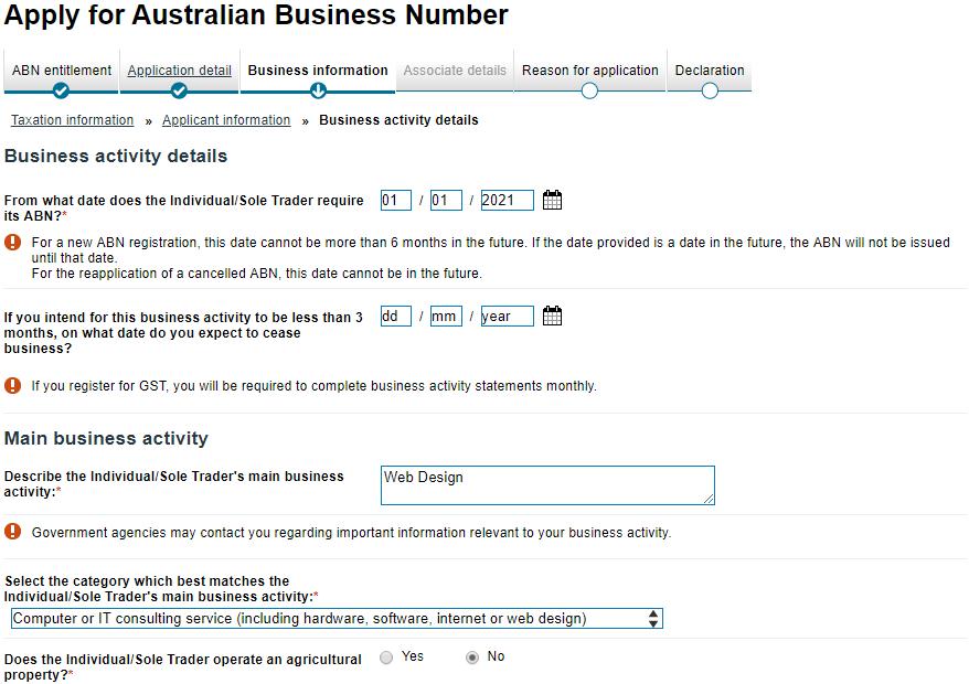 ABN7 - ワーホリ・学生がオーストラリアで起業する方法|ABN申請方法と海外フリーランサーのススメ
